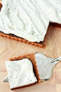 Earl grey chocolate tart