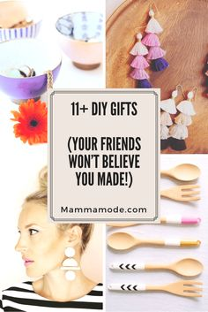 11+ DIY Gifts your F