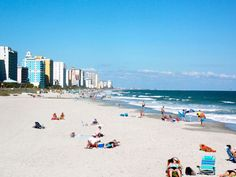 Myrtle Beach-- well, a little farther south is better