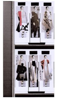 Fashion Sketchbook - fashion design; collection development; creative process; fashion portfolio // Rachel Raheja