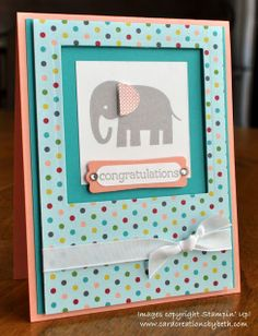 Stampin' Up! by Card Creations by Beth: A Baby Card