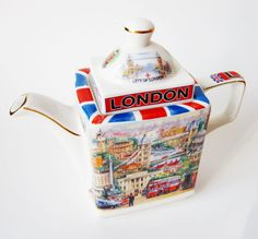 James Sadler Teapot Vintage City of London Best by Latrouvaille. $60.00, via Etsy.
