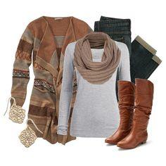 Fall Outfit! I like the color combo