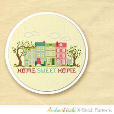 Home Sweet Home Cross-Stitch Pattern