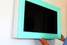 DIY TV Frame <3
