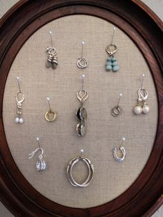 diy- jewelry frame