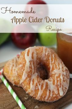 Apple cider donuts | Mom's Need To Know