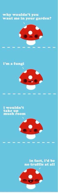 Mushroom puns