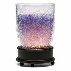 THIS OOH LA LAMP IS CALLED EMMA.  IT IS USED WITH AROMA CRYSTALS.