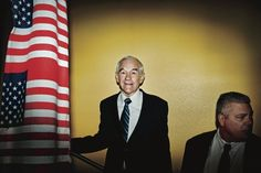 """Kelefa Sanneh on the end of Ron Paul's career in electoral politics, and his son Rand, who has recently sounded """"more than a little bit Paulish"""": http://nyr.kr/QifX3f    (Photograph by Lauren Lancaster.)"""