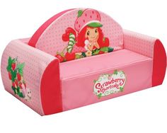 American Greetings Strawberry Shortcake Strawberries Flip Sofa, Strawberry Shortcake for only $79.96