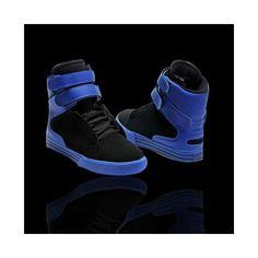 Supra TK Society Black Blue Shoes