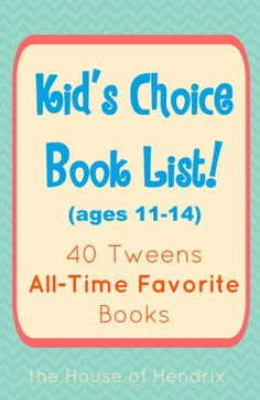 Love this list because every book on it is some child's all time favorite! What would you add?