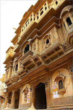 The Desert City of Jaisalmer, India
