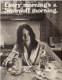 colleges, retro ads, breakfast, michael jackson, smirnoff, vintage ads, drinks, mornings, vintage advertisements