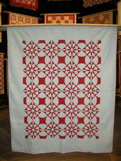 Red and White Quilt!