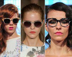 Spring/ Summer 2014 Eyewear Trends: Sunglasses With Printed Frames  #sunglasses #eyewear