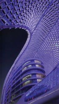 Yas Hotel, on Yas Island, Abu Dhabi, United Arab Emirates