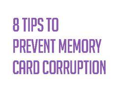 memory card tips