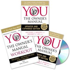 """Although I think Dr. Oz is no longer a reliable source of medical advice (due to endorsements), his book, """"You: The Owner's Manual"""" is a great book."""