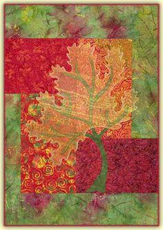 Seasons autumn quilt pattern