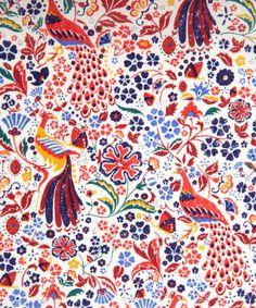 Liberty Art Fabrics Juno's Garden A Tana Lawn   New Season Fabric by Liberty Art Fabrics   Liberty.co.uk