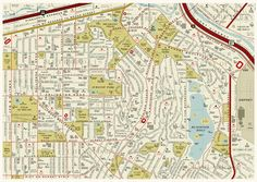 A Street Map Made From Movie Names
