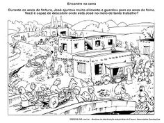 Joseph coloring page. Loads of other activities and such  for Joseph in this post