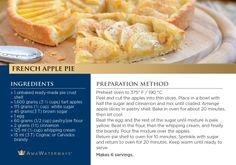 French Apple Pie Recipe - AmaWaterways
