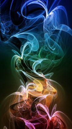rainbow vapor, art photography, backgrounds, aurora, fractal art, pattern art, rainbow colors, light, rainbow smoke