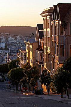 san francisco houses, san francisco california, america, beauti, travel