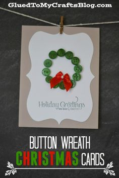 Button Wreath Christ