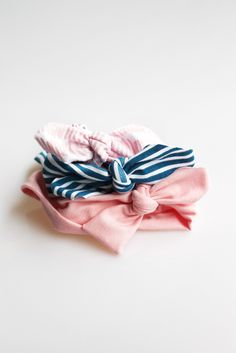 The Knotted Headbands // The Kate Collection