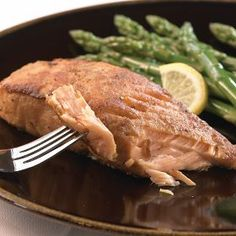 Hickory Marinated Salmon Fillets