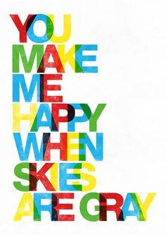 block prints, happy quotes, typography poster, happy colors, art prints, quote art, poster prints, babies rooms, art walls