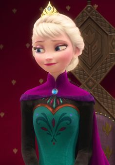 Elsa coronation day