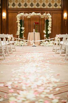 St Regis Deer Valley Utah blush wedding : Joey Kennedy Photography
