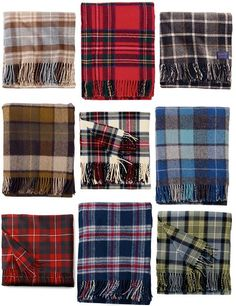 Style Inspiration {Highland Fling} #tartan #plaid #fall