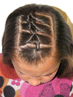 Little Knots #hair #hairstyles #hairdos