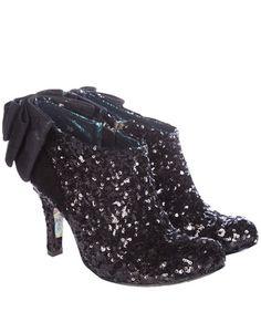 Irregular Choice Sequin Shoe Boot