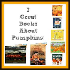 7 great books about pumpkins!