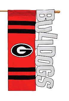 Evergreen Georgia Bulldogs Small Flag #belk #Georgia #college