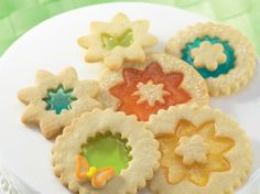 Magic Window Cookies with lifesavers (ahhhhh remember this from 40 years ago!!)