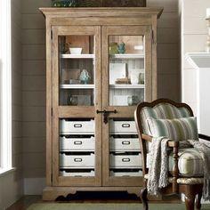 Clemenson Dish Cabinet.