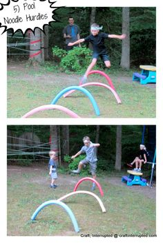 Obstacle course, Craft, Interrupted: Ninjago / Ninja Birthday Party