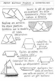 how to build a corrugated origami boat