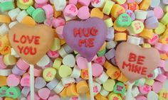 Brachs Conversation Hearts Cake Pops