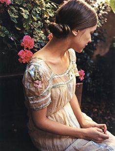 details on dress, pretty
