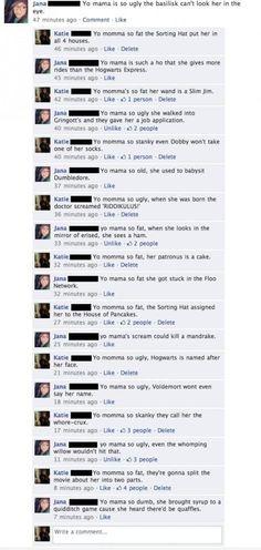 Harry Potter slams!