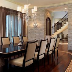 Salle manger on pinterest contemporary dining rooms for Classique ideas interior designs inc